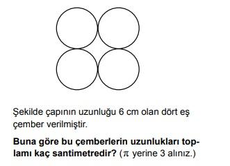 2019 PYBS 6. SINIF MATEMATİK TESTİ ÇÖZ