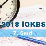 2018 iokbs 7. sınıf bursluluk soruları çöz