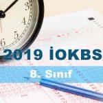 2019 İOKBS 8. Sınıf Türkçe Testi Çöz