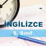 5. Sınıf İngilizce 1. Ünite Testi Çöz