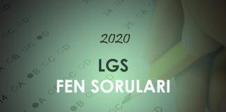 2020 LGS Fen Bilimleri Soruları Çöz