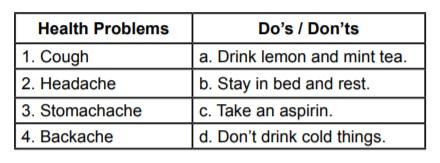 5. sınıf ingilizce health kazanım testleri çöz pdf