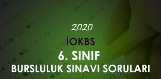 6. Sınıf Bursluluk Sınavı Soruları Çöz 2020