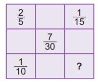 6. sınıf matematik kesirlerle işlemleri test çöz net