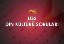 2019 LGS Fen Bilimleri Soruları Çöz